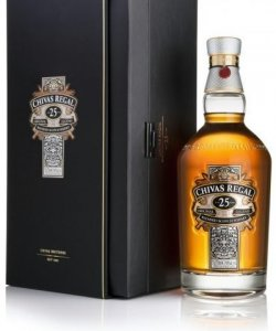 CHIVAS REGAL 25 YEARS WITH BOX