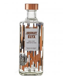 ABSOLUT ELYX 75CL 42.3% ALC CL (FREE GREEN OLIVES 200GM)