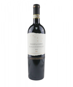 "BRUNELLO DI MONTALCINO ""POGGIO AL CARRO"" 750ML"