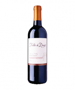 FOLIE A DEUX ALEXANDER VALLEY CABERNET 750ML