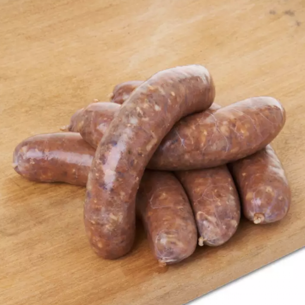 FROZEN SPICY LAMB SAUSAGE 100GM X 5PCS/PKT