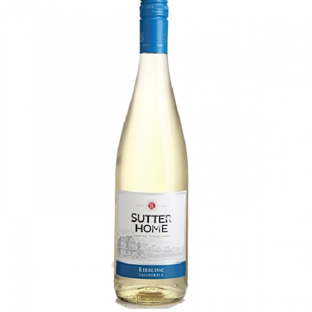 SUTTER HOME RIESLING 750ML